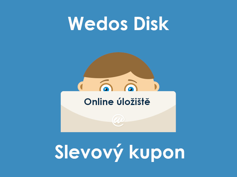 Wedos Disk slevový kupon
